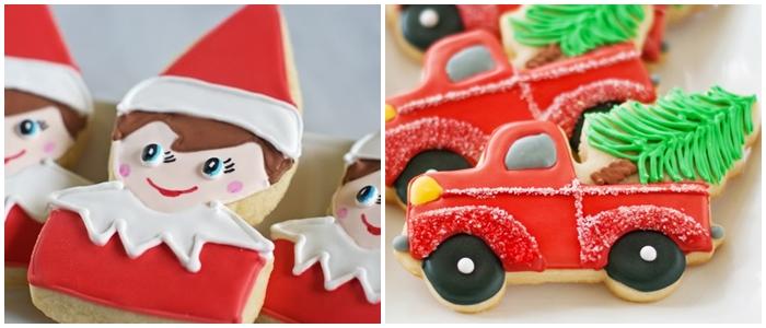 Bake at 350 decorated cookies index: Christmas cookies