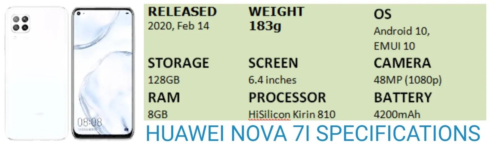 huawei nova 7i,nova 7i,huawei nova 7i specifications,huawei nova 7i prices & more