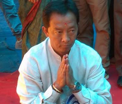 Binay Tamang in mungpoo jogighat