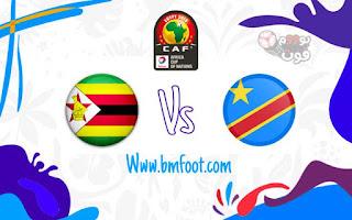 مشاهدة مباراة زيمبابوي و الكونغو مباشر