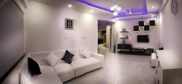 Beautiful Interior Design of Living Room HD Wallpaper