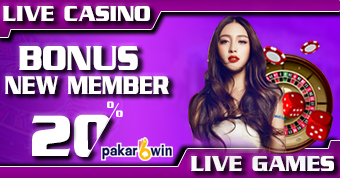 PAKARWIN | BONUS NEW MEMBER LIVE CASINO & IDNLIVE