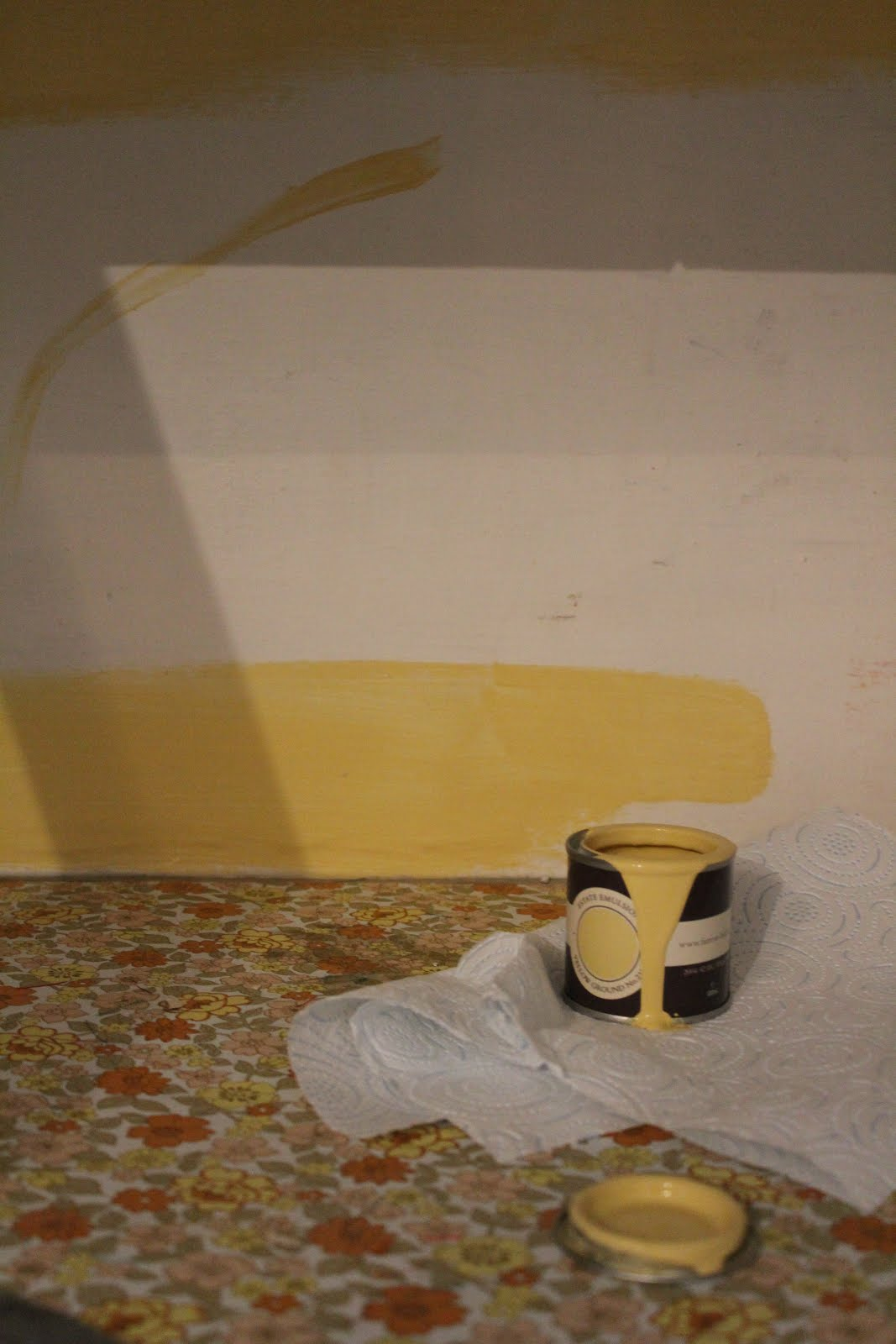 Farrow and Ball Yellow Ground