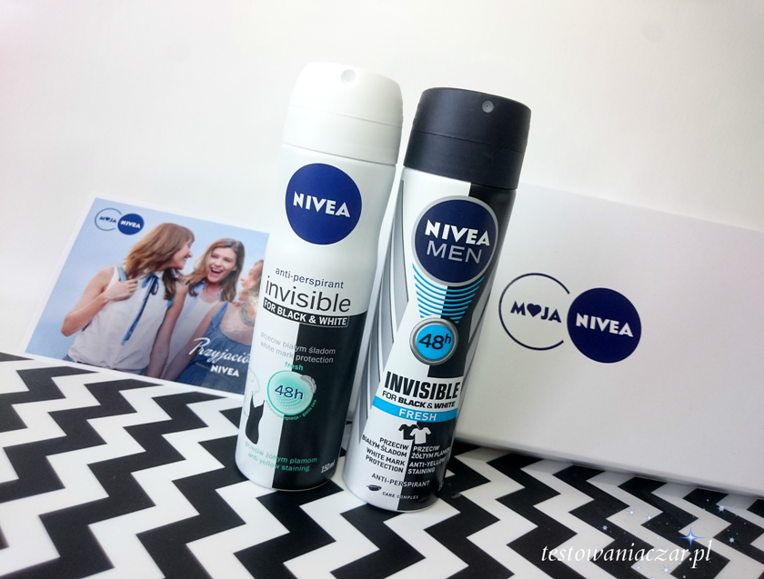 Nivea Invisible for black and white fresh