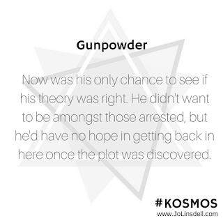 Gunpowder: It's Release Day! #KOSMOS #quote