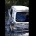 Corpos são achados carbonizados dentro de carro queimado na Estrada da Cetrel
