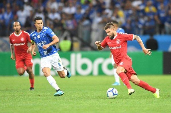 Sobis é reserva do Inter (Foto: Ricardo Duarte / Inter)