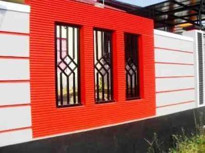 Permalink to 16+ Contoh Terbaik Pagar Rumah Minimalis Warna Merah