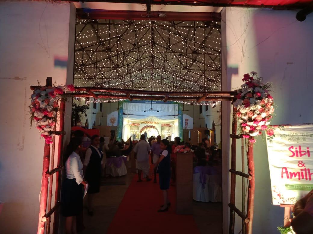 Entrance Decoration work Kerala 8943906399