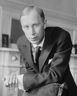 Prokofiev in New York in 1918