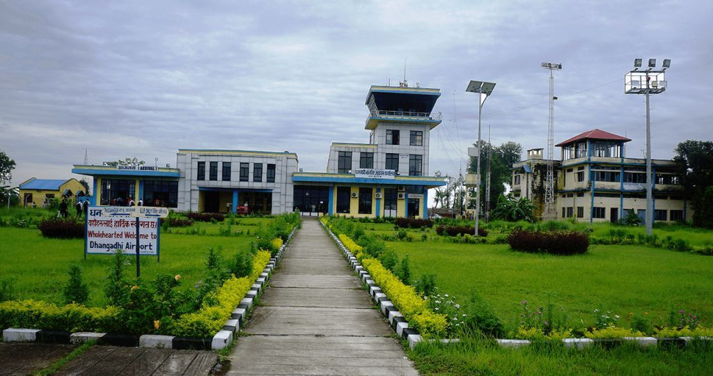 Building of Air traffic controller of Dhangadhi Airport