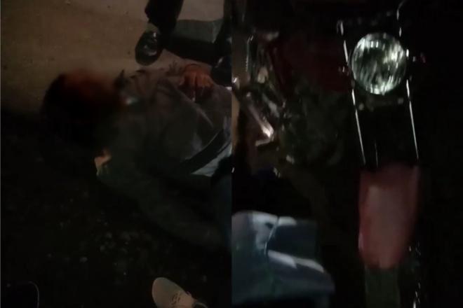 Pemotor di Barebbo Kecelakaan, Mulut Bau Miras