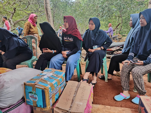 Generasi Muda Batangmata Sapo Salurkan Bantuan Bagi Korban Kebakaran Di Desa Tamalanrea