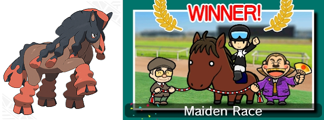 Mudsdale horse Pocket Card Jockey Pokémon Game Freak