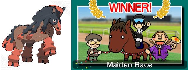 Mudsdale horse Pocket Card Jockey Pokémon Game Freak