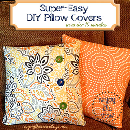 orange print pillows on a couch