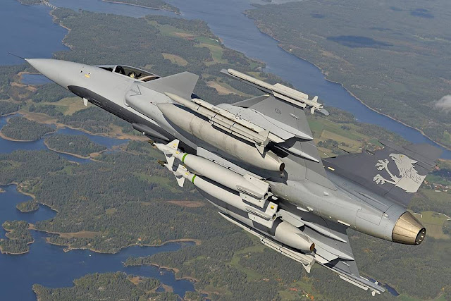 Gripen E fires first missile