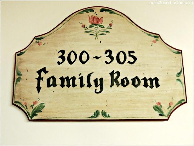 Detalles del Trapp Family Lodge en Vermont