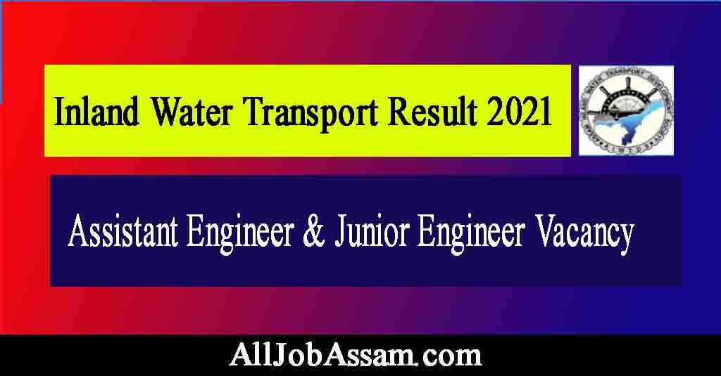 Inland Water Transport Result 2021