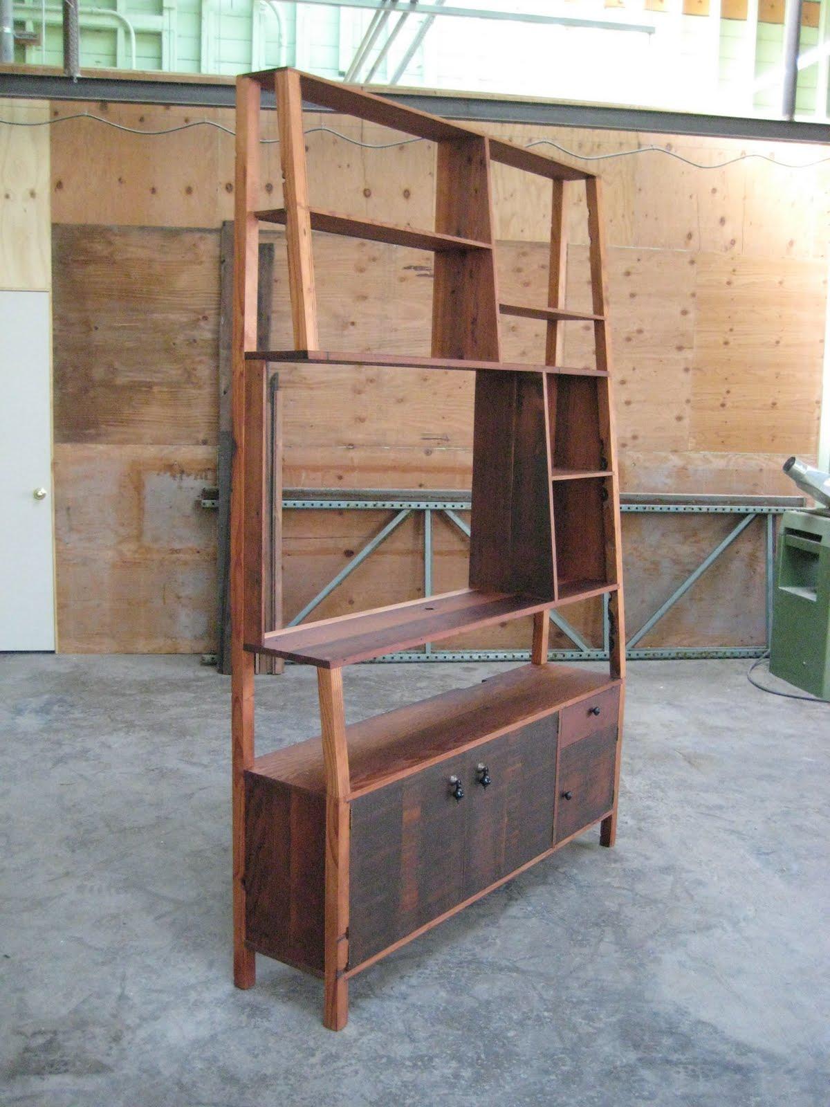 Sebastian Parker Sculpture And Furniture Design Reclaimed Redwood