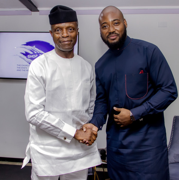 Yemi Osinbajo speaks on the Importance of Collaboration to Build a Better Nigeria at Shop Talk Conference