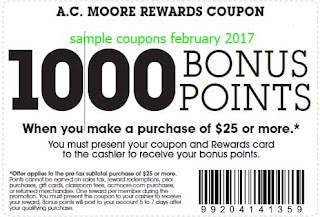 AC Moore coupons february 2017