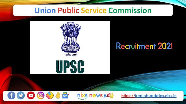 UPSC Recruitment 2021 712 Civil Services Posts– Apply online