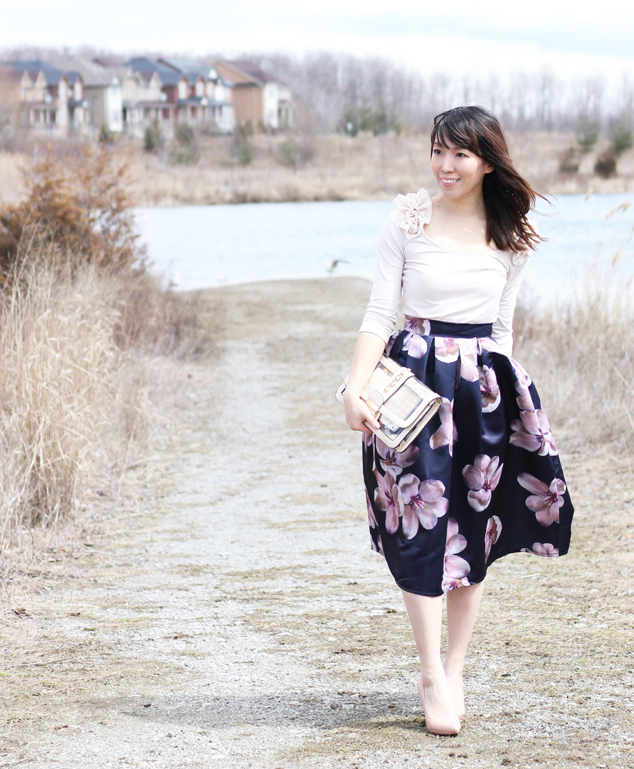 {Outfit of the Day} Spring Outfit in Full Bloom