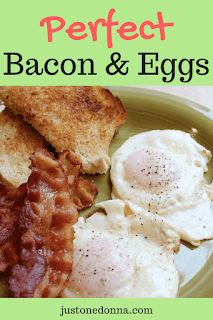 Perfect Bacon and Eggs
