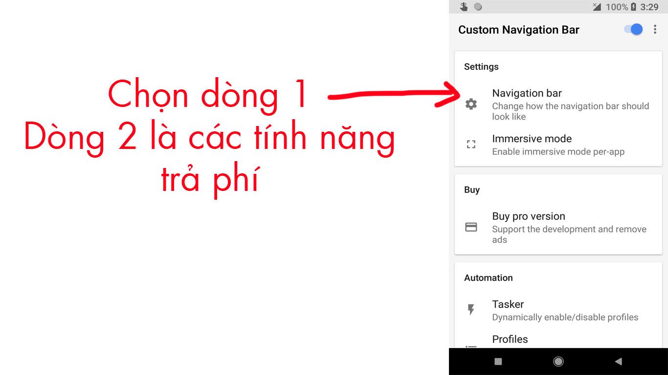 Thay đổi phím điều hướng Android trên Google Pixel
