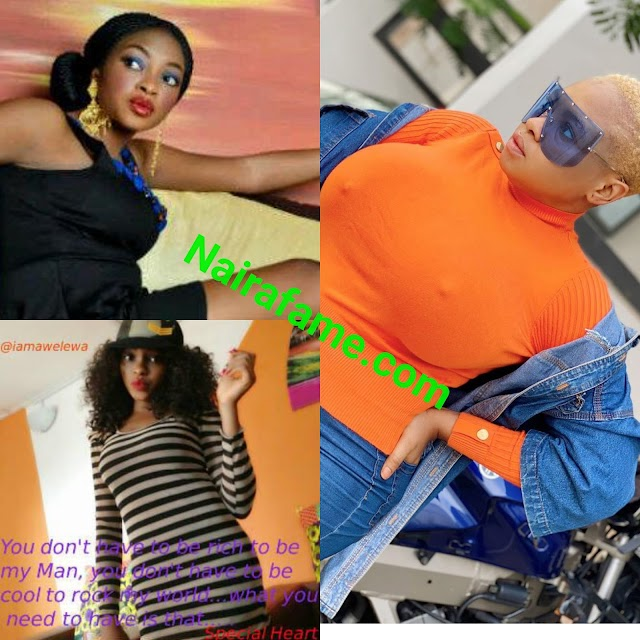 Is Funmi Awelewa Breast Natural?? PHOTOS