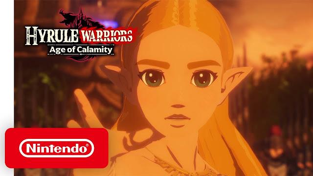 Hyrule Warriors: Age of Calamity (Switch): confira o trailer de lançamento