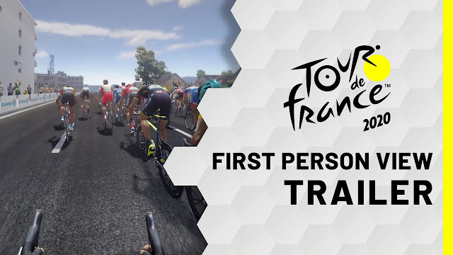 EXPERIENCE THE TOUR DE FRANCE LIKE A PRO CYCLIST WITH THE NEW FIRST-PERSON CAMERA PERSPECTIVE