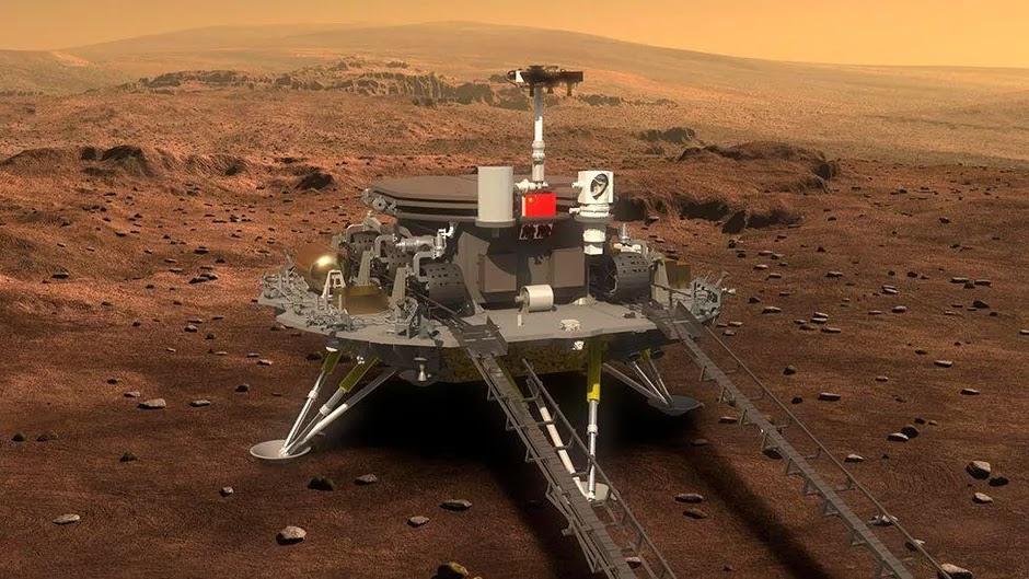 NASA Statement on China's Zhurong Mars Rover Photos