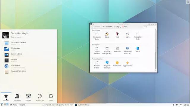Cara Instal KDE Plasma 5 di Linux-5