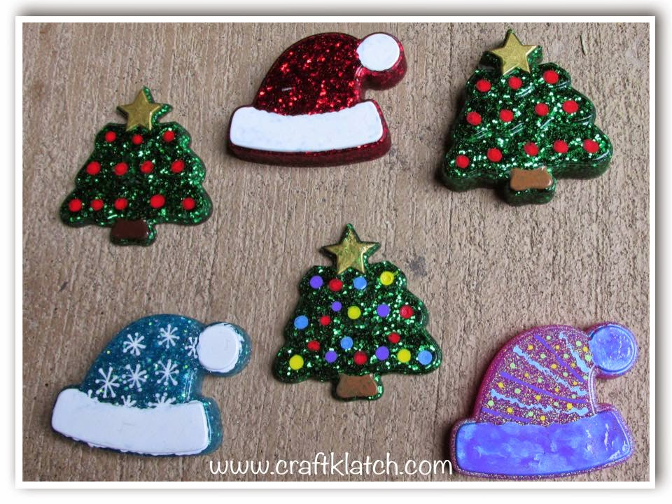 Resin Christmas Ornaments.Craft Klatch Easy Resin Christmas Ornaments Craft Tutorial