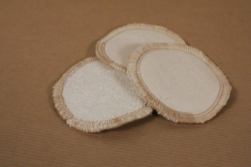 disque de coton lavable