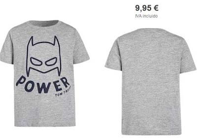 camiseta gris nino