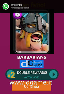 Soluzioni Quiz Clash Royale card livello 19