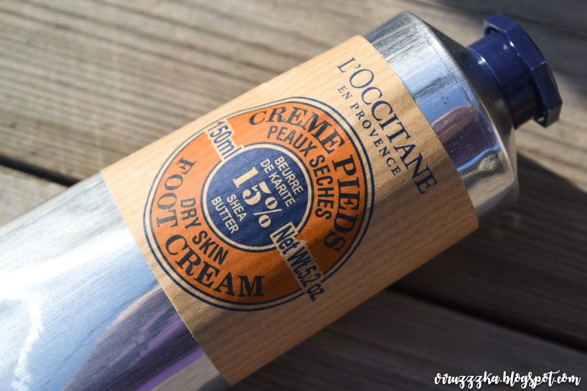 L'Occitane 15% Shea Butter Dry Skin Foot Cream Review