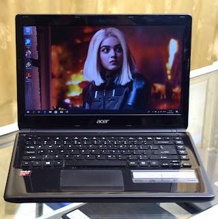 Jual Laptop Acer Aspire E1-422 ( AMD A6 ) di Malang