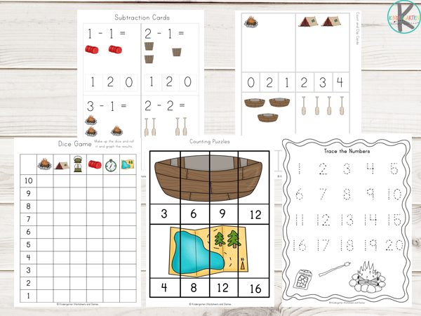 summer-camping-worksheets-counting-tracing-numbers-skip-counting