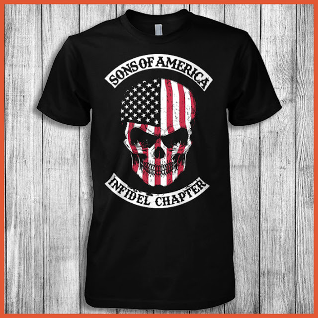 Sons Of America Infidel Chapter T-Shirt