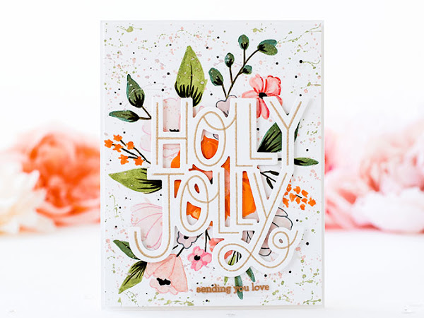 Holly Jolly Floral - How to Fix a Mishap | The Stamp Market