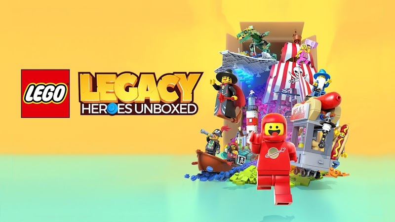 LEGO® Legacy: Heroes Unboxed