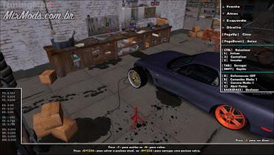 garagem do jogo grid 2 para tuning mod (gta sa)