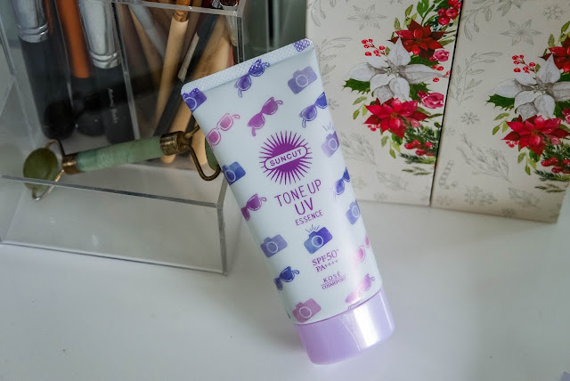 kose-cosmeport-suncut-tone-up-uv-essence-review-indonesia