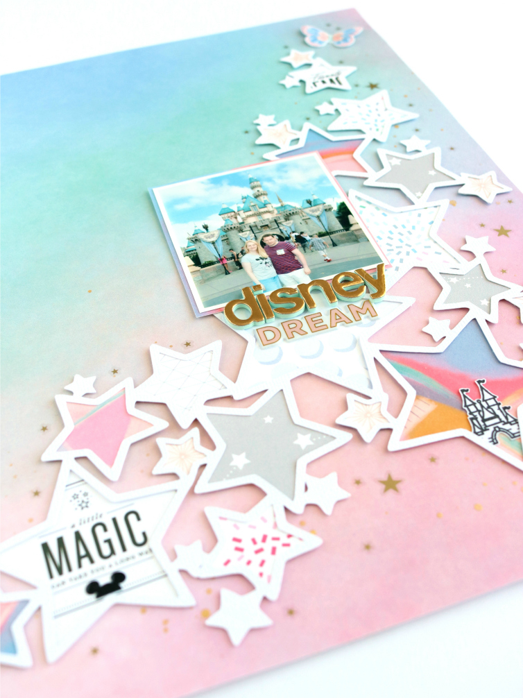 Disney Dream | Scrapbooking Layout