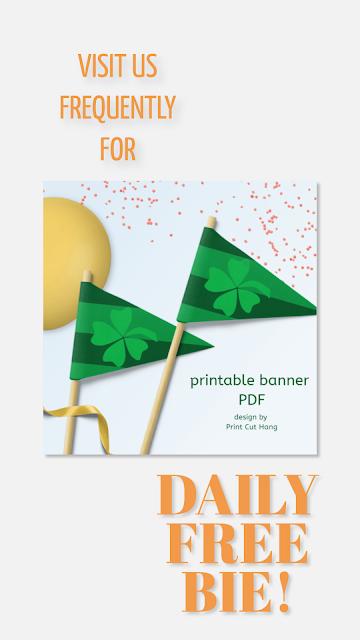 Daily Freebie Day 8 Pin