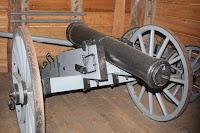 Réplica del cañón del batallón de Dade